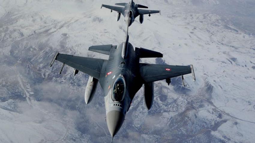 Kuzey Irak'a hava harekatı! Hedefler imha edildi