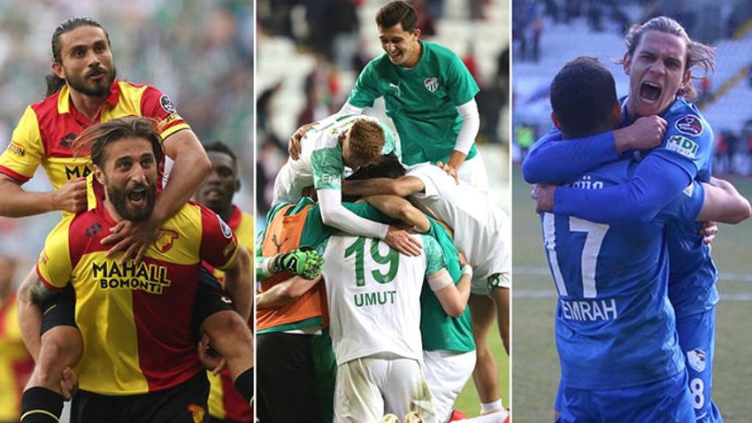 Göztepe, Bursaspor ve Erzurumspor ligde nasıl kalır?