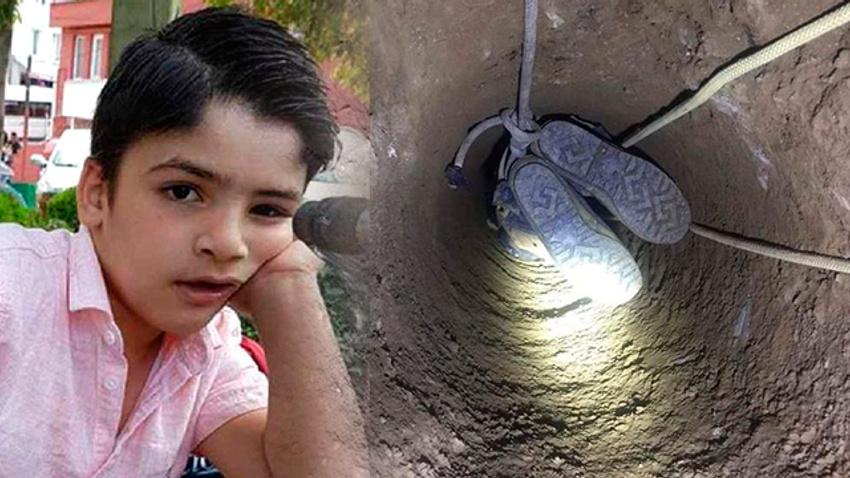 İnşaat çukuruna düşen 8 yaşındaki Baran hayatını kaybetti
