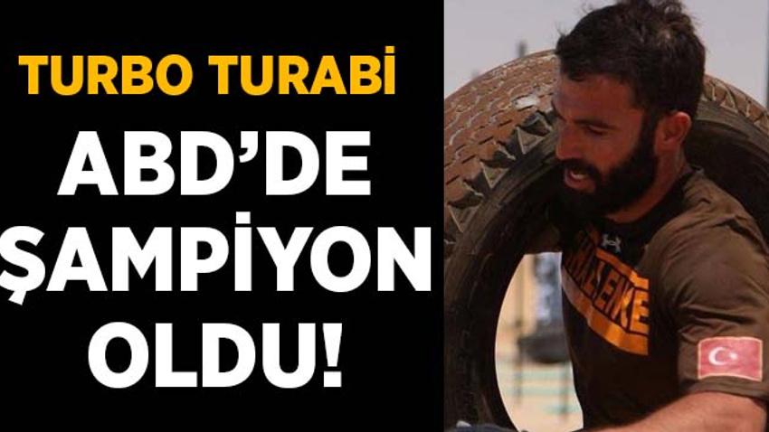 Turbo Turabi ABD'de dünyanın en zor yarışmasında şampiyon oldu!