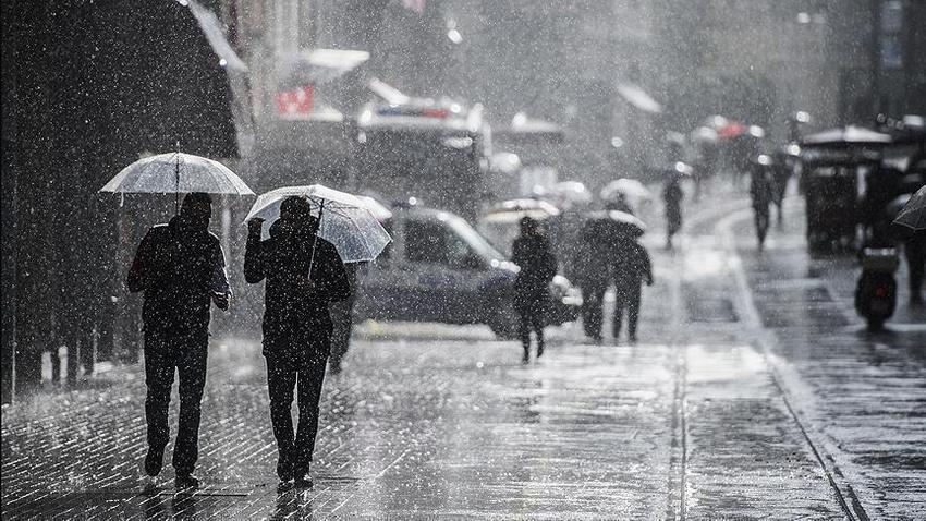 Meteoroloji'den İstanbul uyarısı: Sağanak geliyor sıcaklıklar düşüyor