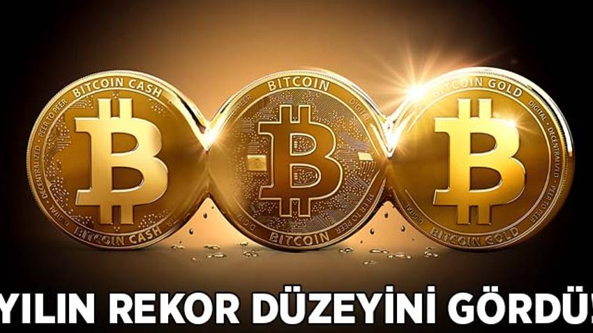 Bitcoin yılın rekor düzeyine ulaştı!
