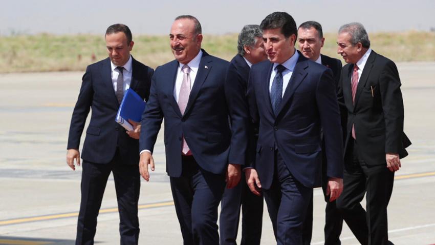 Çavuşoğlu Neçirvan Barzani'nin yemin törenine katılacak