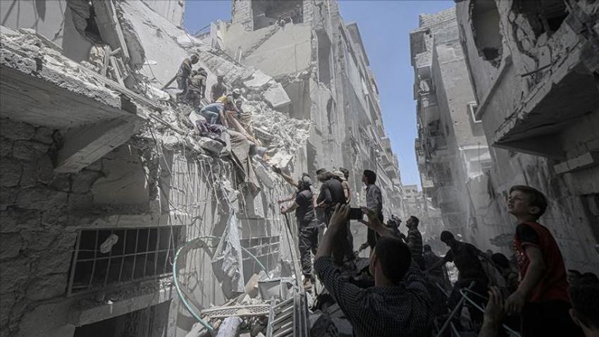 Esed rejimi İdlib'e saldırdı: 3 ölü