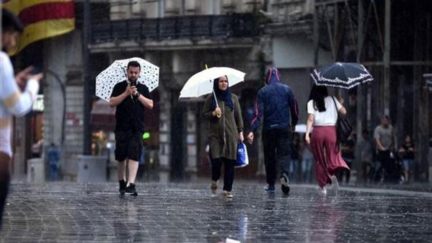 Meteoroloji'den yurt geneline sağanak uyarısı