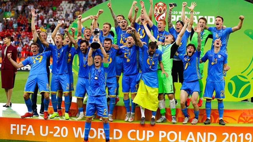 U20 Dünya Kupası'nda zafer Ukrayna'nın