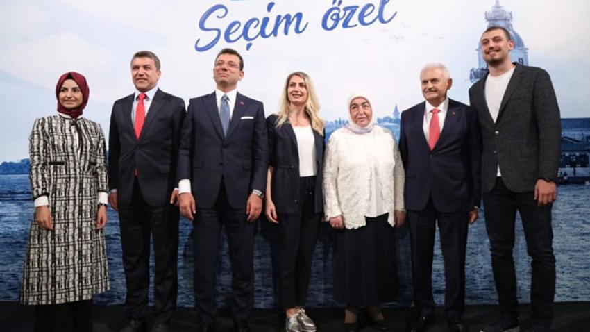 Adaylardan aile fotoğrafı