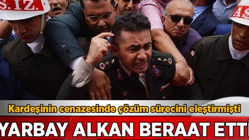 FETÖ üyeliğinden yargılanan Yarbay Mehmet Alkan beraat etti