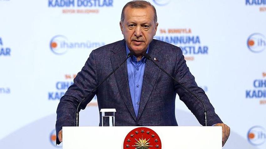 Başkan Erdoğan'dan İmamoğlu'na sert sözler: Bu FETÖ sanatıdır