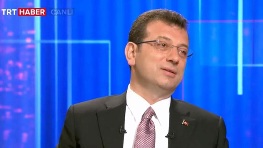İmamoğlu'ndan TRT'ye zor soru: Basın olarak bunu sorguladınız mı?