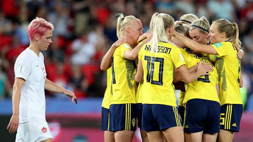 İsveç ve ABD çeyrek finalde
