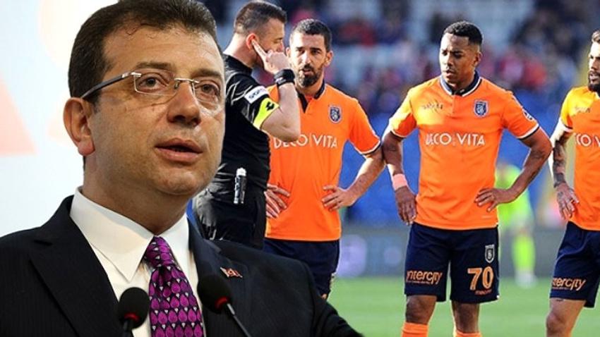 Ekrem İmamoğlu'ndan flaş Başakşehir kulübü açıklaması