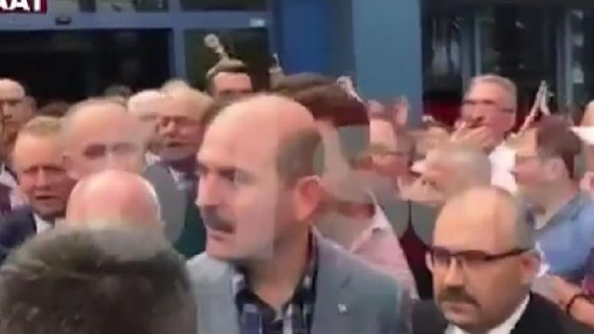 Süleyman Soylu'ya memleketinde şok protesto