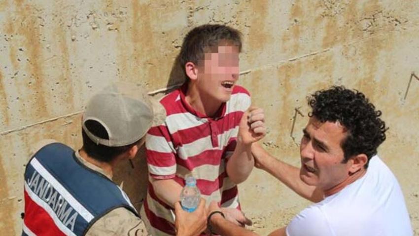 Mustafa 21 saat sonra bulundu 'Götürmeyin kızarlar' diye ağladı