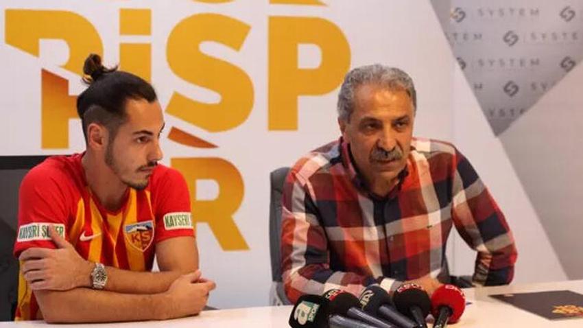 F.Bahçe'nin yeni transferi Kayserispor'da!