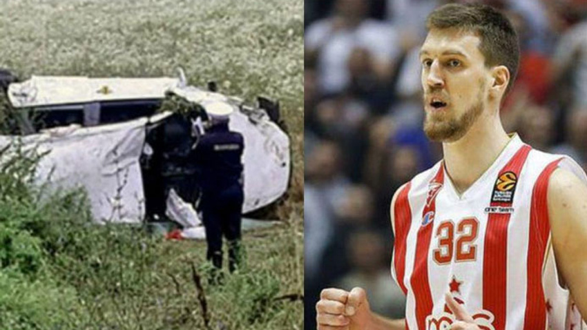 Trafik kazası geçiren Ognjen Kuzmic yaşam savaşı veriyor!