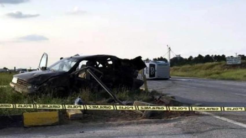 Eskişehir'de korkunç kaza: 3 ölü 6 yaralı