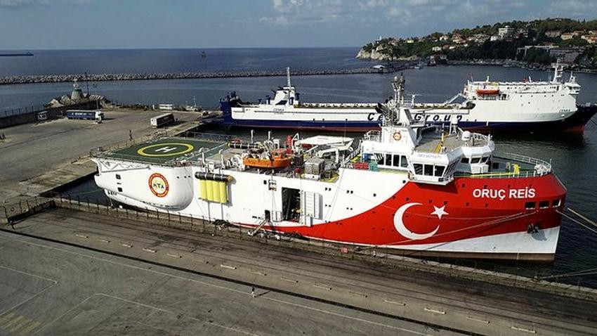 Araştırma gemisi Oruç Reis Akdeniz'e gönderilecek