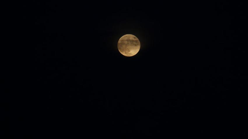 Parçalı Ay Tutulması İstanbul'dan böyle görüntülendi