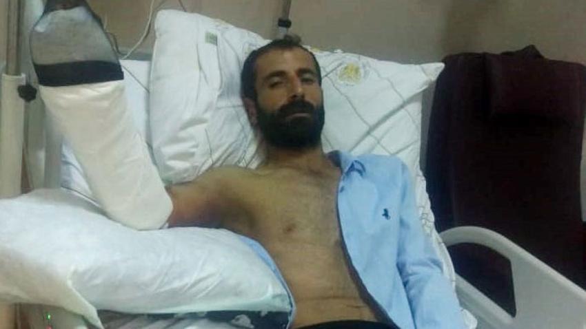 Diyarbakır'da korkunç olay! Yaraladığı yılan ısırdı,  yoğun bakıma alındı