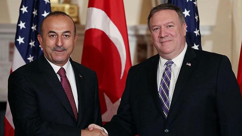 Dışişleri Bakanı Çavuşoğlu, Pompeo ile görüştü