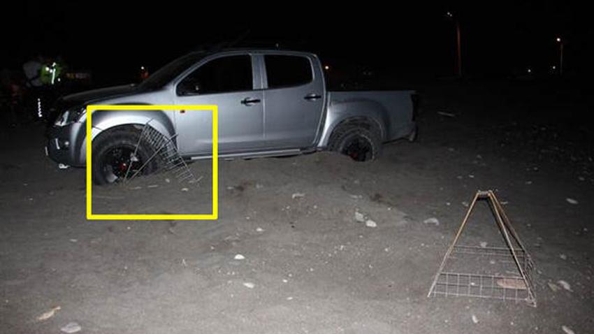 Caretta carettaların üreme alanında drift yapan sürücünün cezası belli oldu