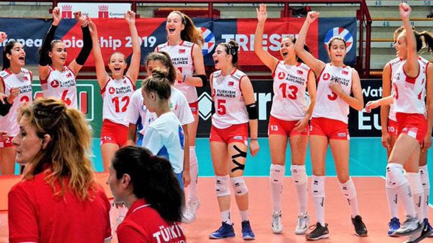 16 Yaş Altı Kızlar Avrupa Şampiyonu
