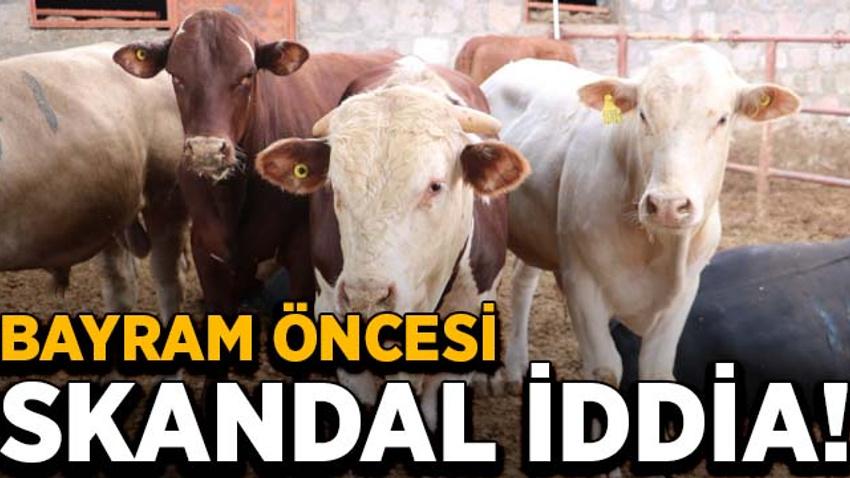 Kurban Bayramı öncesi skandal iddia!