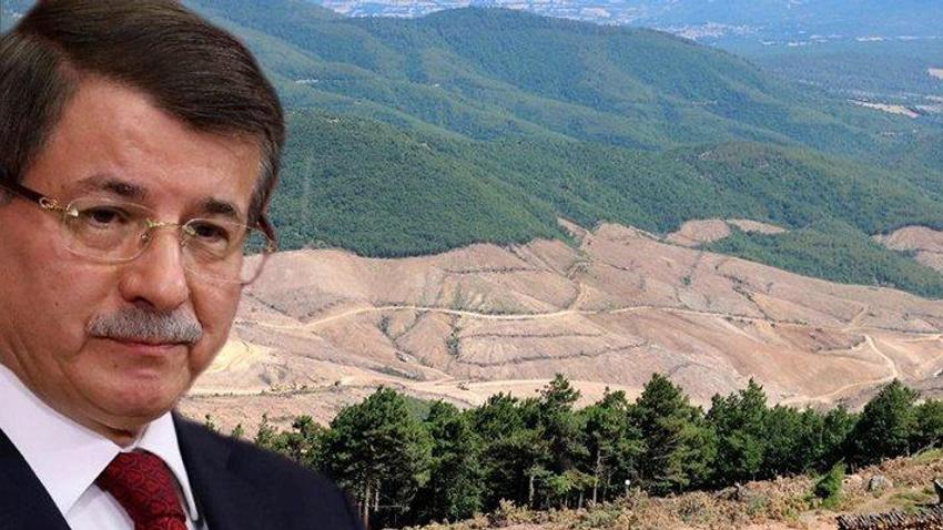 Ahmet Davutoğlu'ndan Kaz Dağları tepkisi