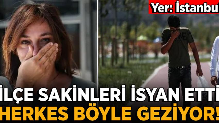 İstanbul Küçükçekmece'de kötü koku isyanı!