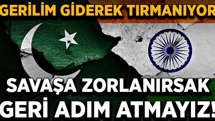 Pakistan Cumhurbaşkanından Hindistan'a sert tepki: Savaşa zorlanırsak geri adım atmayız!