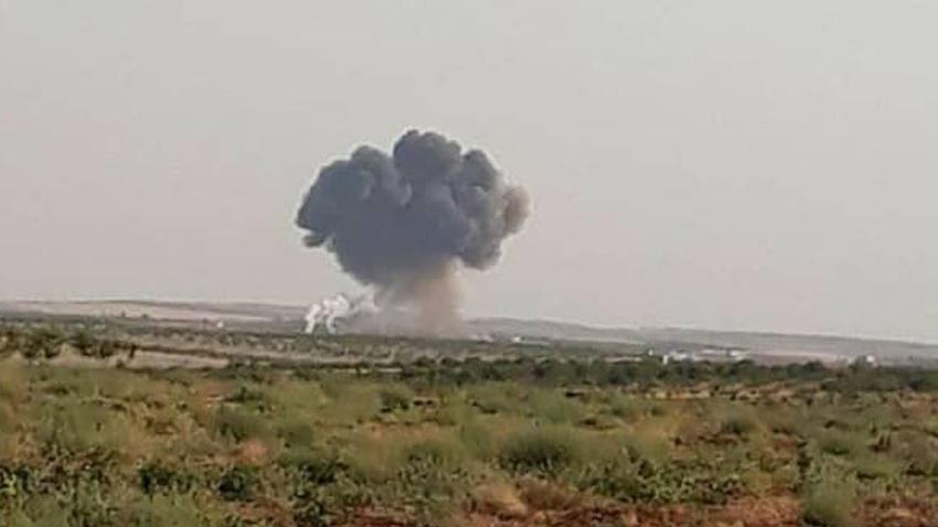 İdlib'te Esad rejimine ait bir Rus uçağı düşürüldü
