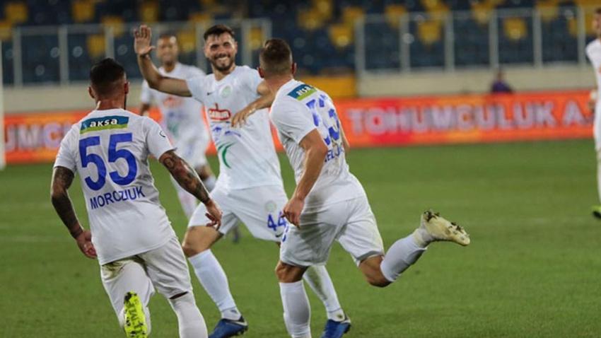 Çaykur Rizespor, Gençlerbirliği'ni tek golle geçti