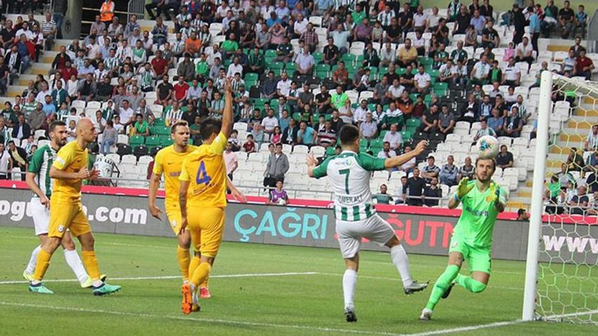 Konya'da gol çıkmadı
