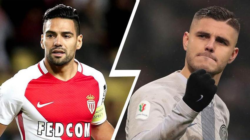Monaco Icardi'yi alıyor, Falcao geliyor...