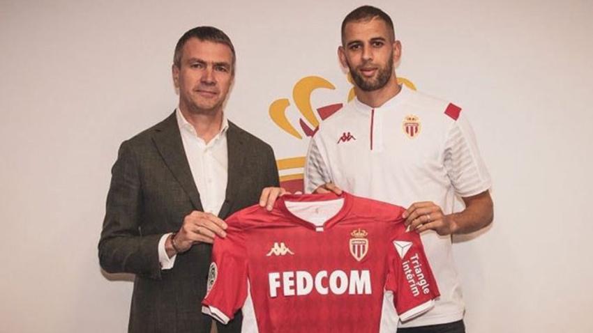 Monaco, Islam Slimani transferini bitirdi