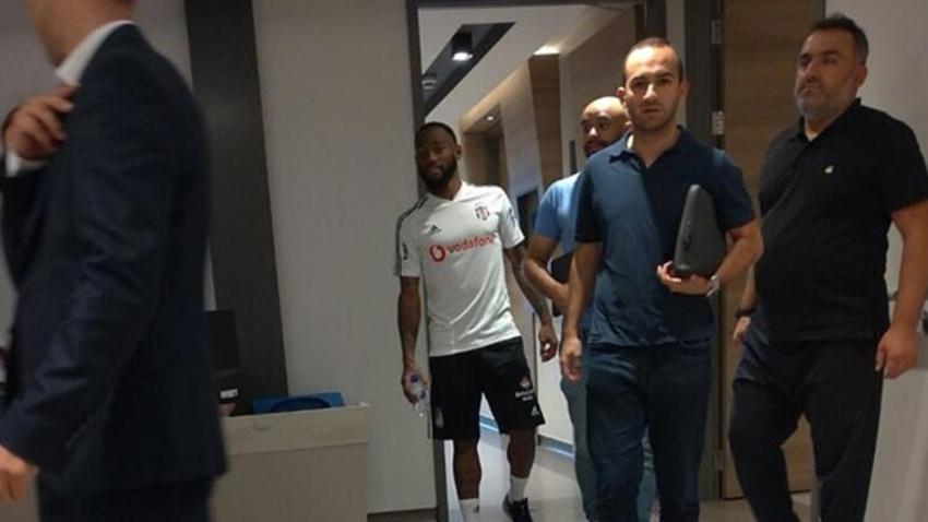 Beşiktaş'ın yeni transferi formayı giydi, sağlık kontrolünden geçti