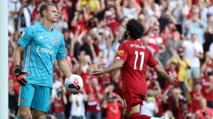 Liverpool 3'te 3 yaptı! Arsenal, Salah'ı durduramadı!