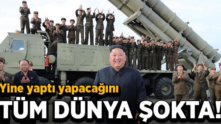Kim Jong yine yaptı yapacağını!