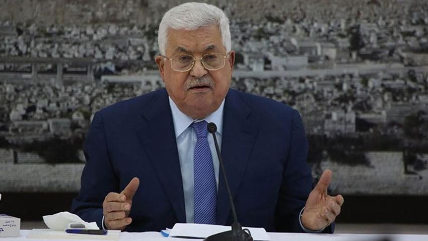 Filistin Devlet Başkanı Abbas'dan ilhak açıklaması