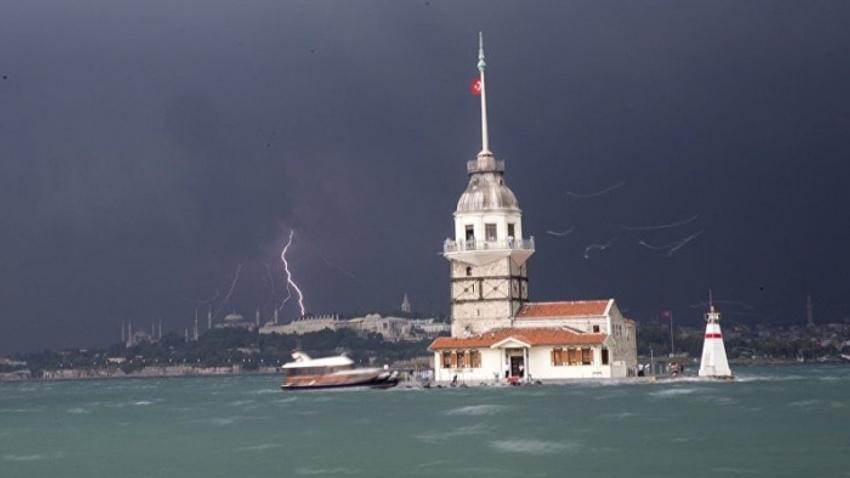 İstanbul için saat verildi! Fırtına ve sağanak geliyor