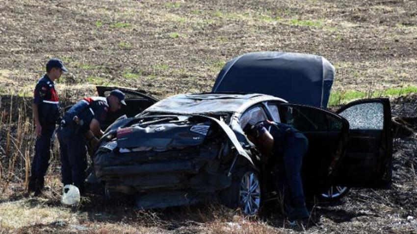 Belediye başkanının konvoyunda kaza! Yaralılar var