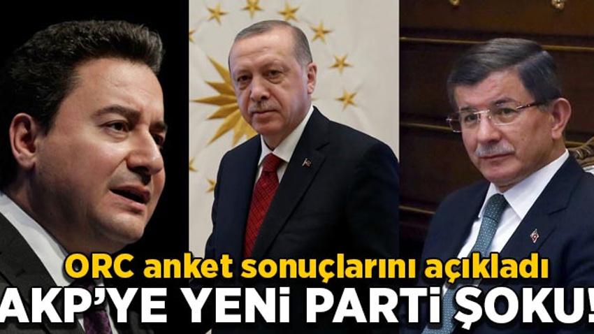 ORC anket sonuçlarını açıkladı: AK Parti'ye yeni parti şoku!