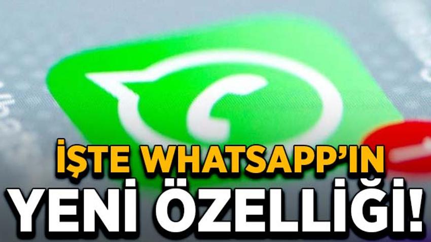 İşte WhatsApp'ın yeni özelliği! Karanlık mod