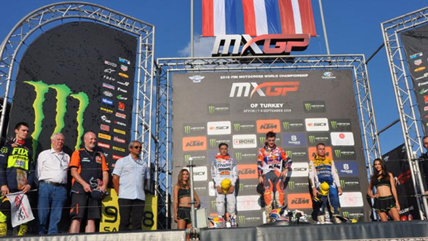 Dünya Motokros Şampiyonası sona erdi