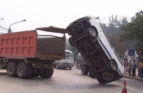 İşte dünyanın en acayip trafik kazaları... - Sayfa 3
