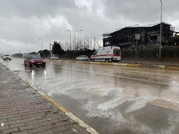 Tuzla'da yanan fabrika çevresinde yağmur sonrası şok görüntüler - Sayfa 1