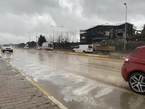 Tuzla'da yanan fabrika çevresinde yağmur sonrası şok görüntüler - Sayfa 2