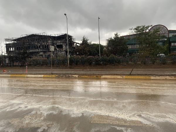 Tuzla'da yanan fabrika çevresinde yağmur sonrası şok görüntüler - Sayfa 4