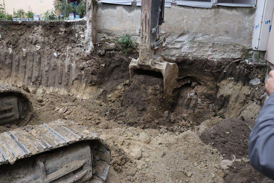Apartmanın altında Osmanlı tüneli bulundu - Sayfa 1